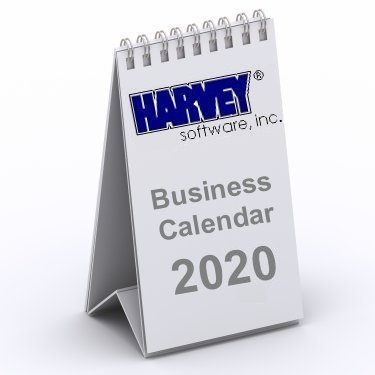 Harvey Software Business Calendar 2019