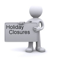 Harvey Software Holiday Closures